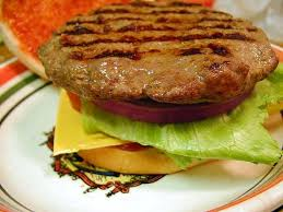 Ground beef Hamburger Pattie