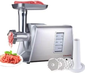Sunmile SM-G73 Heavy Duty Electric Meat Grinder and Sausage Stuffer