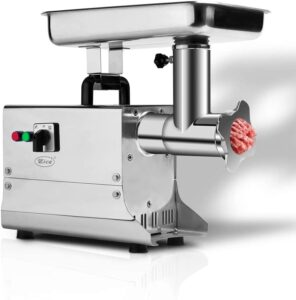 Zica Electric Stainless Steel Commercial Grade Meat Grinder