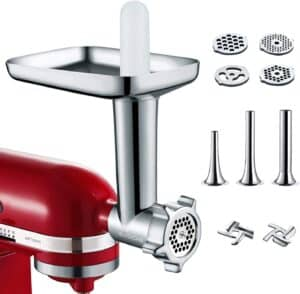GVODE Food Grinder Attachment and Sausage Stuffer
