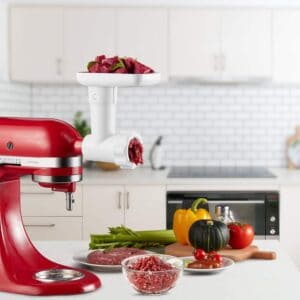 InnoMoon Food Meat Grinder Attachment for Kitchenaid Stand Mixers