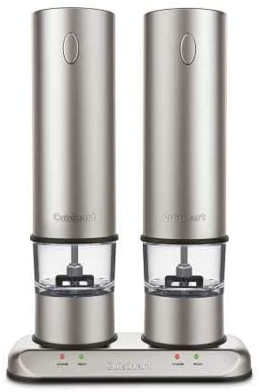 Cuisinart Rechargeable Salt & Pepper Mill Set