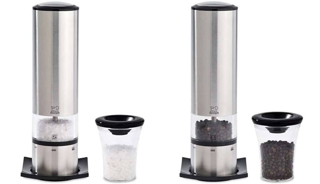 Peugeot Elis Sense u'Select Electric Salt & Pepper Mill Set