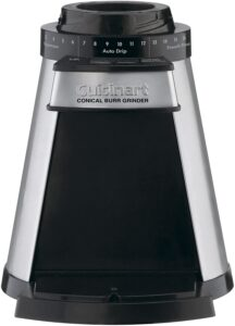 Functions Of Cuisinart Programmable Conical Burr Mill