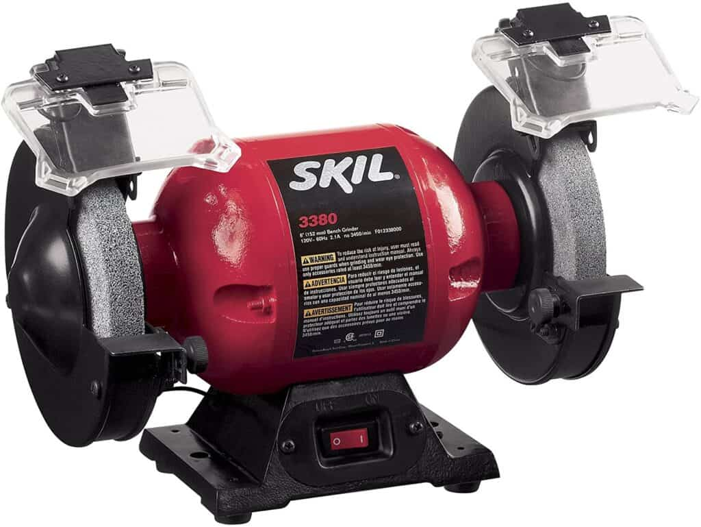 SKIL 3380-01 6-Inch Bench Grinder Review